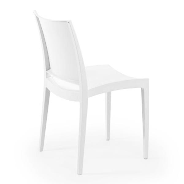 Chaise de séminaire blanche Dublin