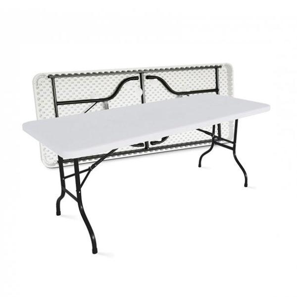 Location table traiteur rectangulaire pour buffet