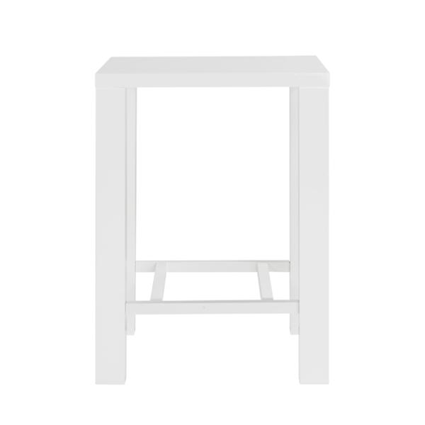 Table haute Berlin blanche