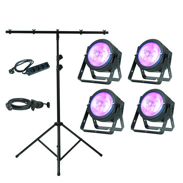Pack d'eclairage pour evenementiel
