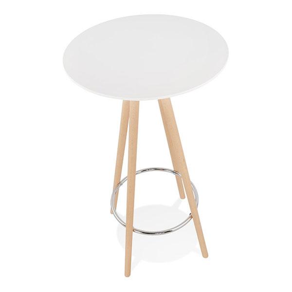 Table mange-debout bois scandinave