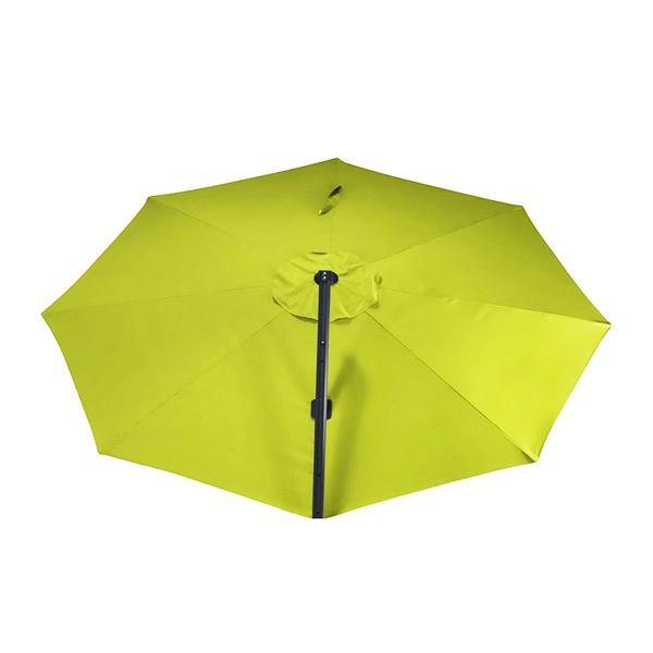 Grand parasol avec pied déporté
