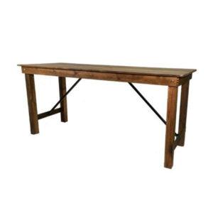 Table en bois chic et champêtre