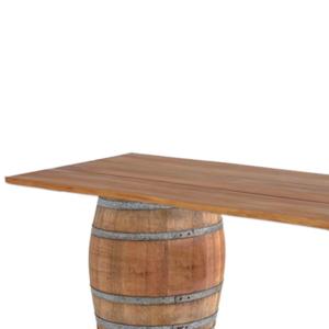 Tonneau table pour mariage