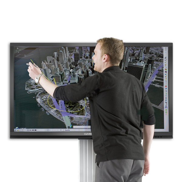 Ecran tactile pour réunion